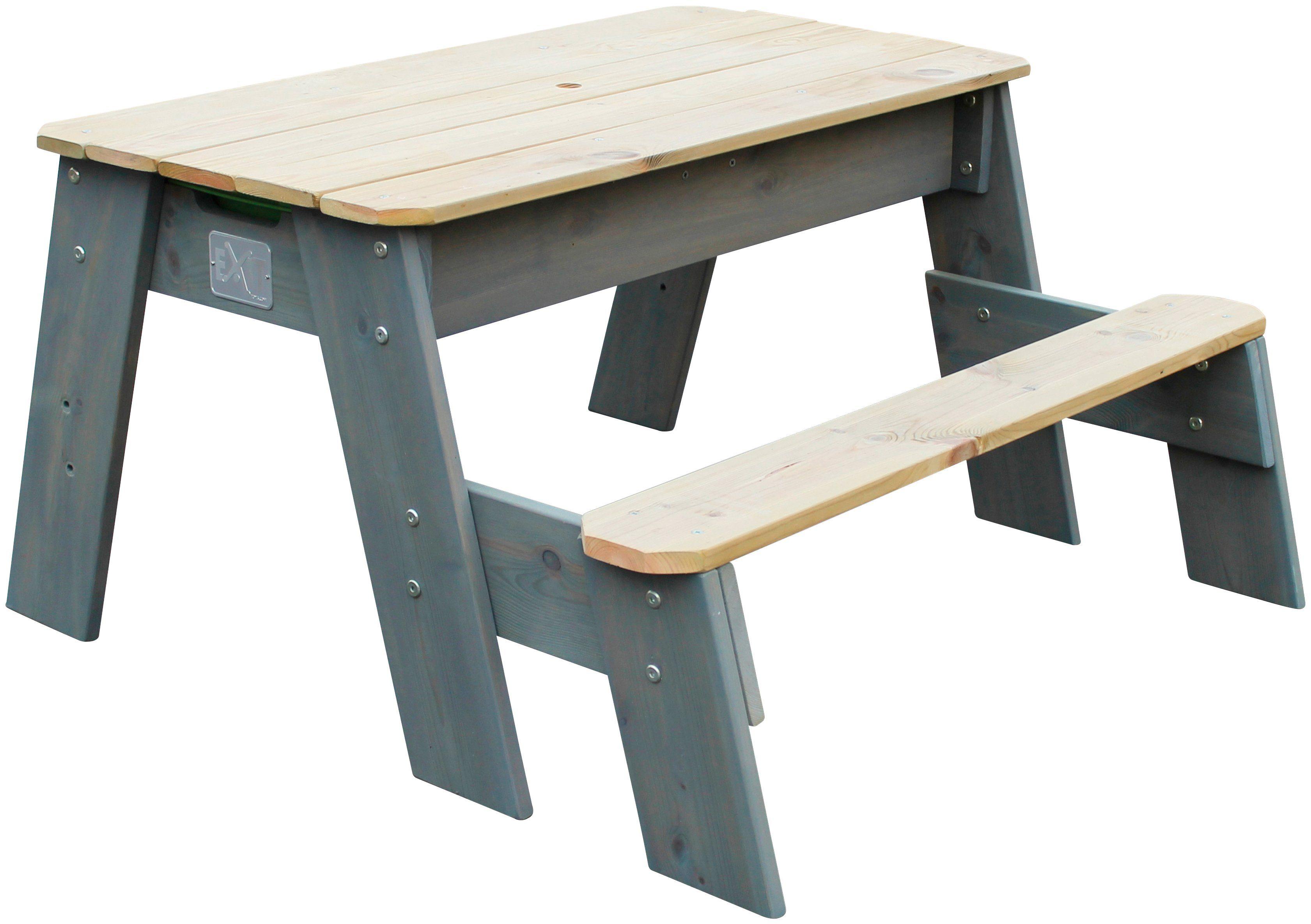 EXIT Spielzeug »Spieltisch Aksent Picknick«, BxL: 95x89 cm, 1 Bank