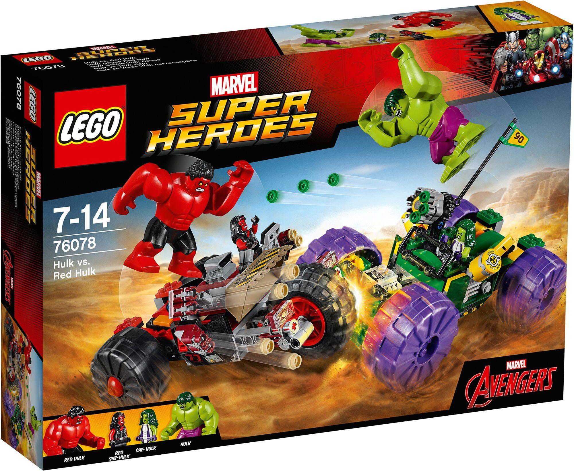 LEGO® Hulk gegen Red Hulk (76078), »LEGO® Marvel Super Heroes«