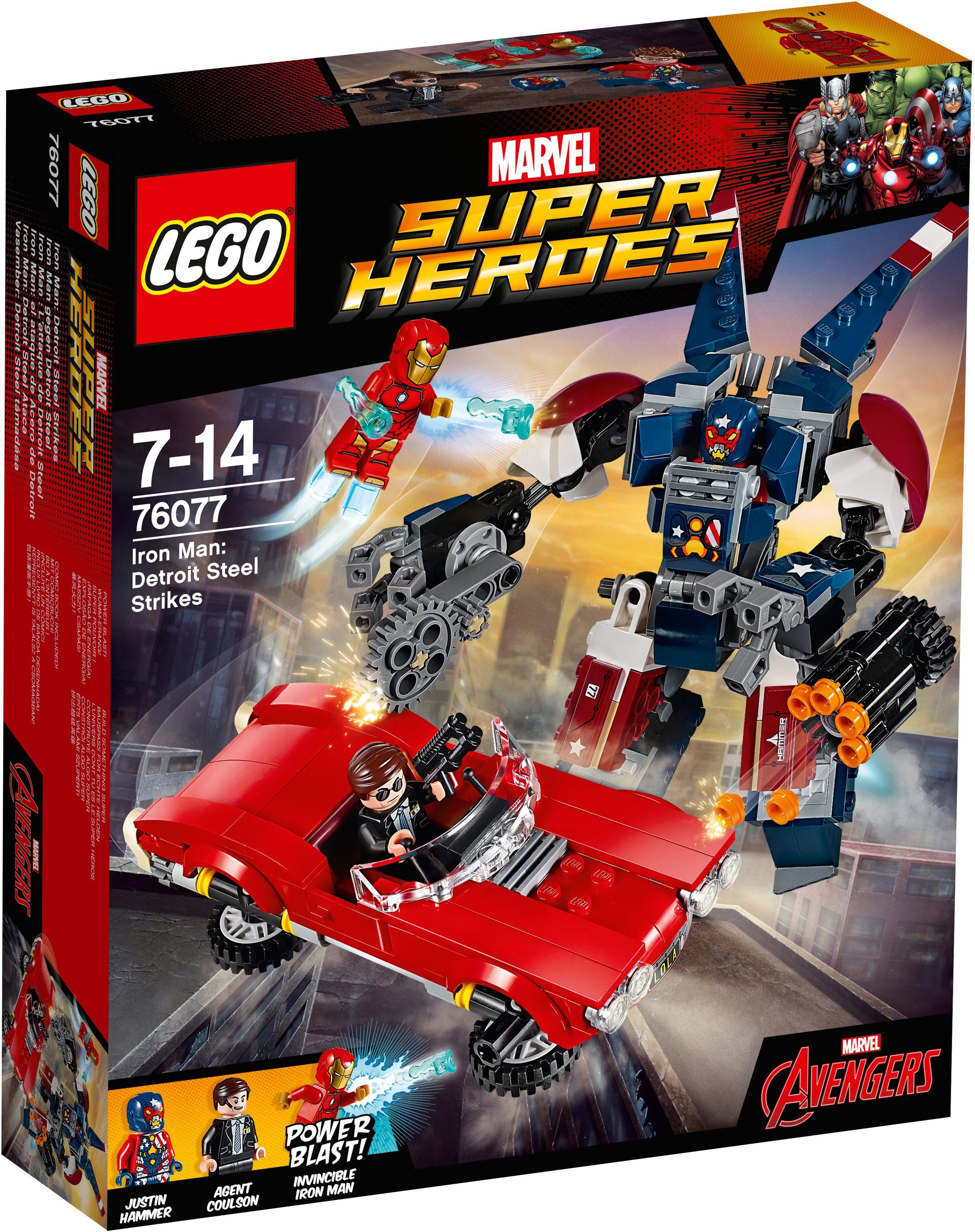 LEGO® Iron Man gegen Detroit Steel (76077), »LEGO® Marvel Super Heroes«