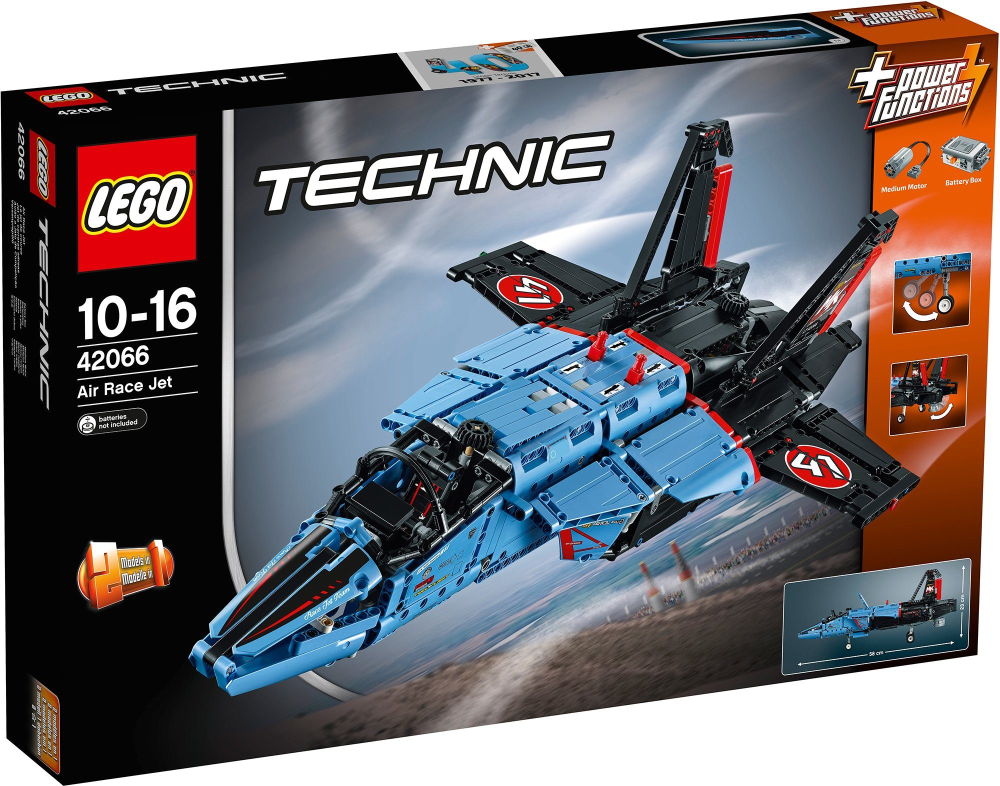 LEGO® 2-in-1 Modell Air Race Jet (42066), »LEGO® Technic«