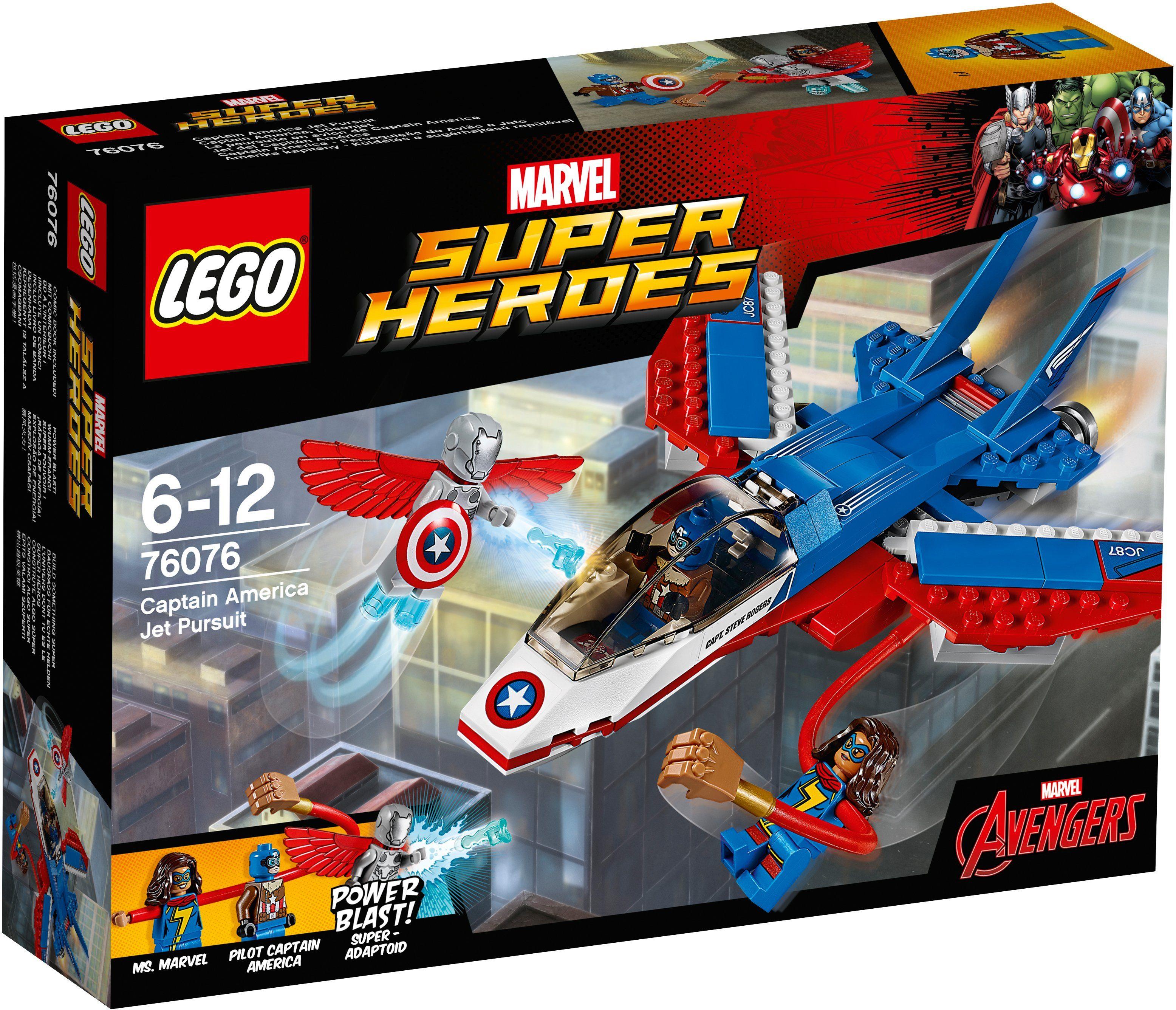 LEGO® Captain America: Düsenjet (76076), »LEGO® Marvel Super Heroes«