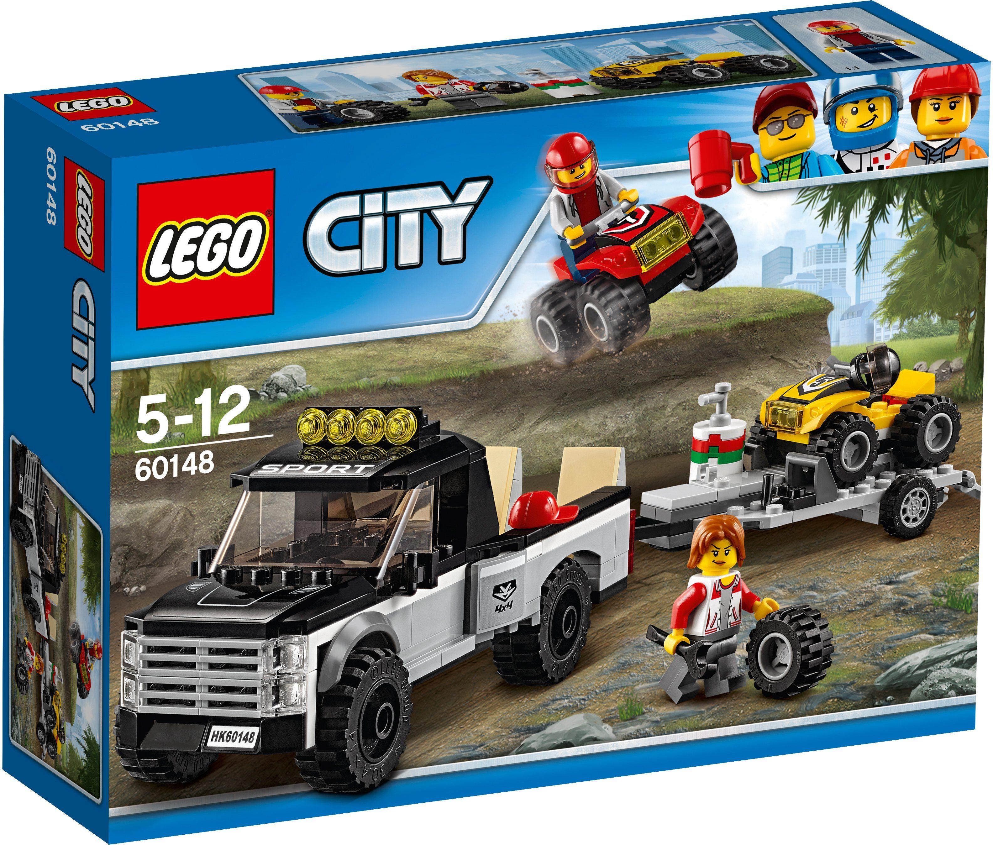 LEGO® Quad-Rennteam (60148), »LEGO® City Starke Fahrzeuge«