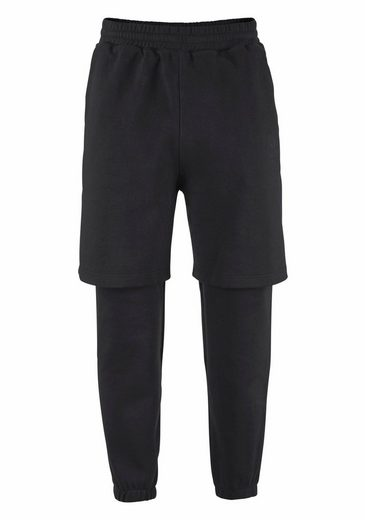 adidas Originals Jogginghose WINTER D-SWEATPANT, 2-in-1 Optik