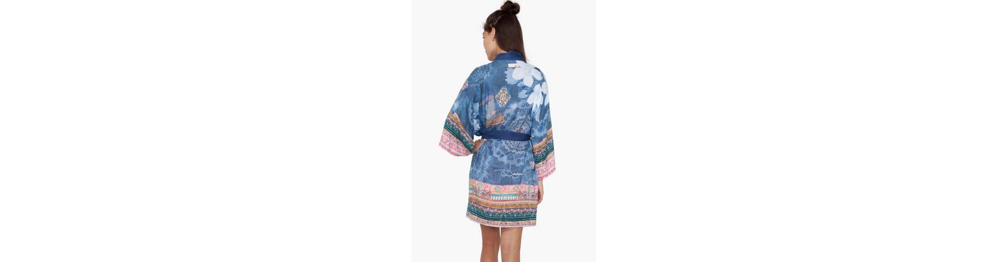 Desigual Leichter Kimono mit Bindeband Niedriger Preis Versandkosten Für Online Große Überraschung Günstiger Preis Steckdose Mit Paypal SGmvqBU5n