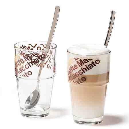 Gläser: Latte-Macchiato-Gläser