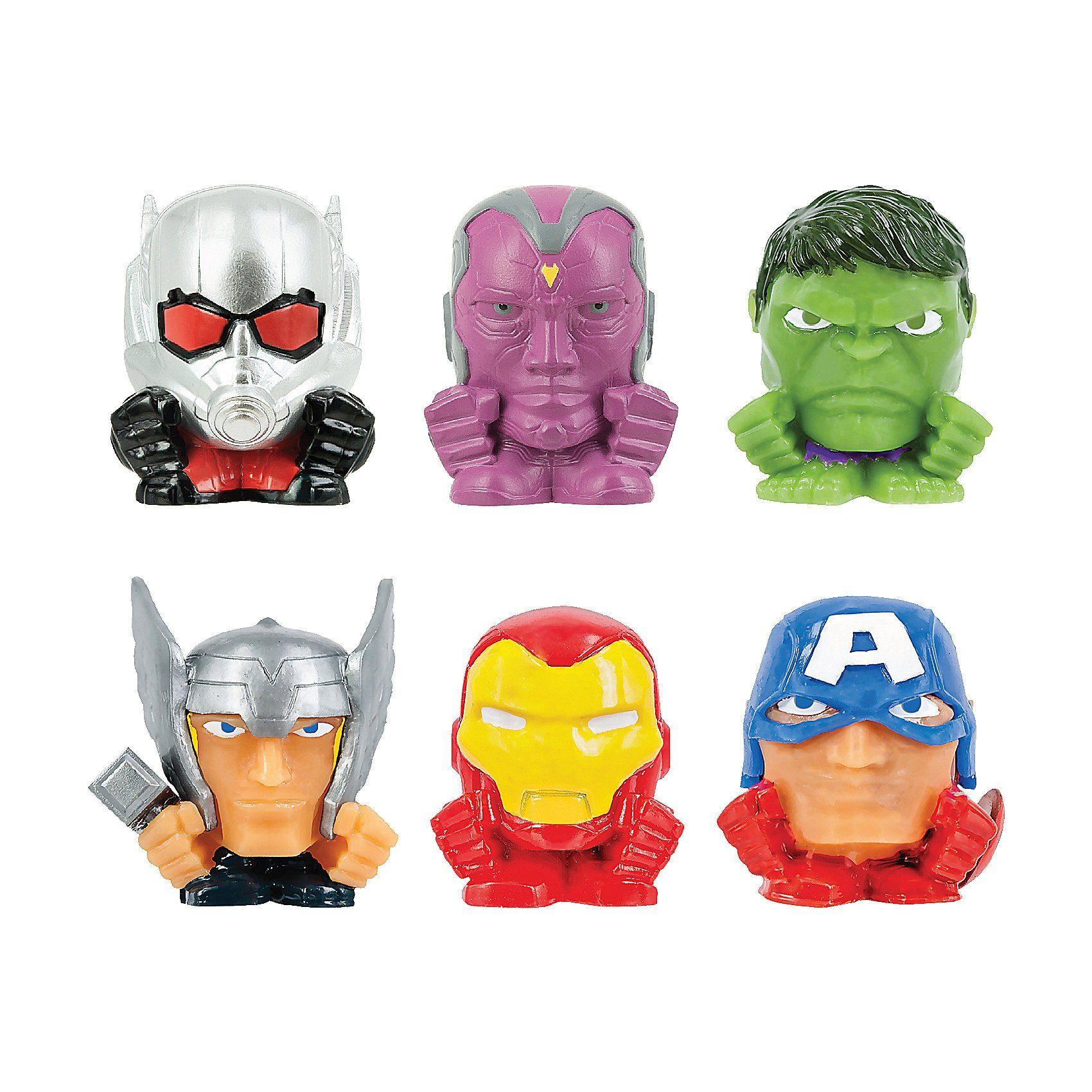 Vivid® Mash'ems - Marvel The Avengers - 6er Pack