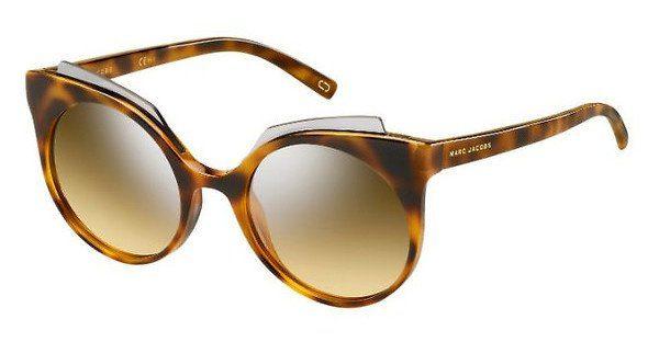 MARC JACOBS Marc Jacobs Damen Sonnenbrille » MARC 105/S«, braun, N36/GG - braun/ silber