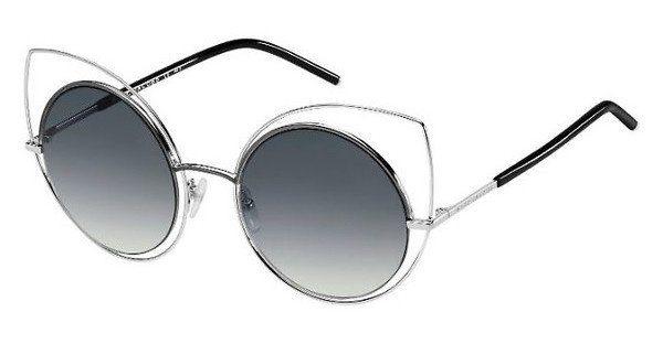 MARC JACOBS Marc Jacobs Damen Sonnenbrille » MARC 10/S«, silberfarben, TYY/B0 - silber/grün