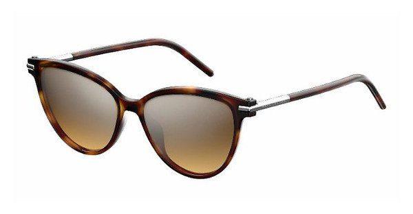 MARC JACOBS Marc Jacobs Damen Sonnenbrille » MARC 47/S«, schwarz, D28/GY - schwarz/ grün