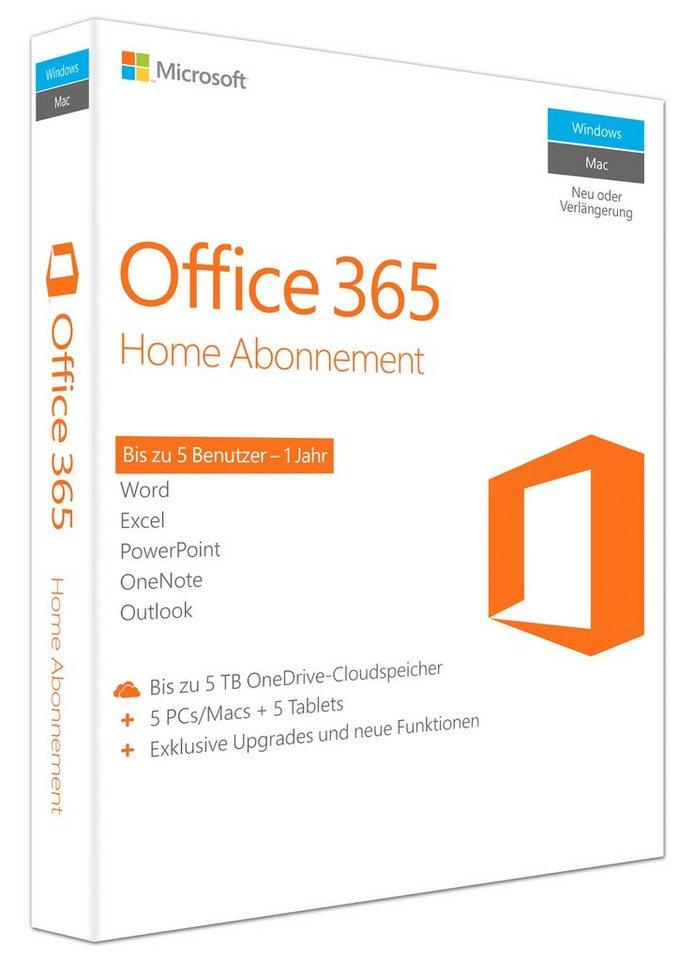 Microsoft Office-Paket »Office 365 Home«