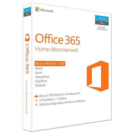 Microsoft Office-Paket »Office 365 Home«