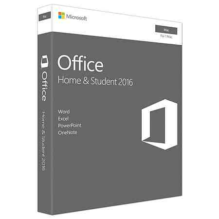 Microsoft Office-Paket »Office Home & Student 2016 (Mac)«