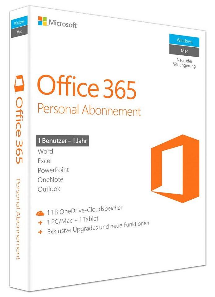 Microsoft Office-Paket »Office 365 Personal«
