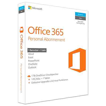 Microsoft Office-Paket »Office 365 Personal«