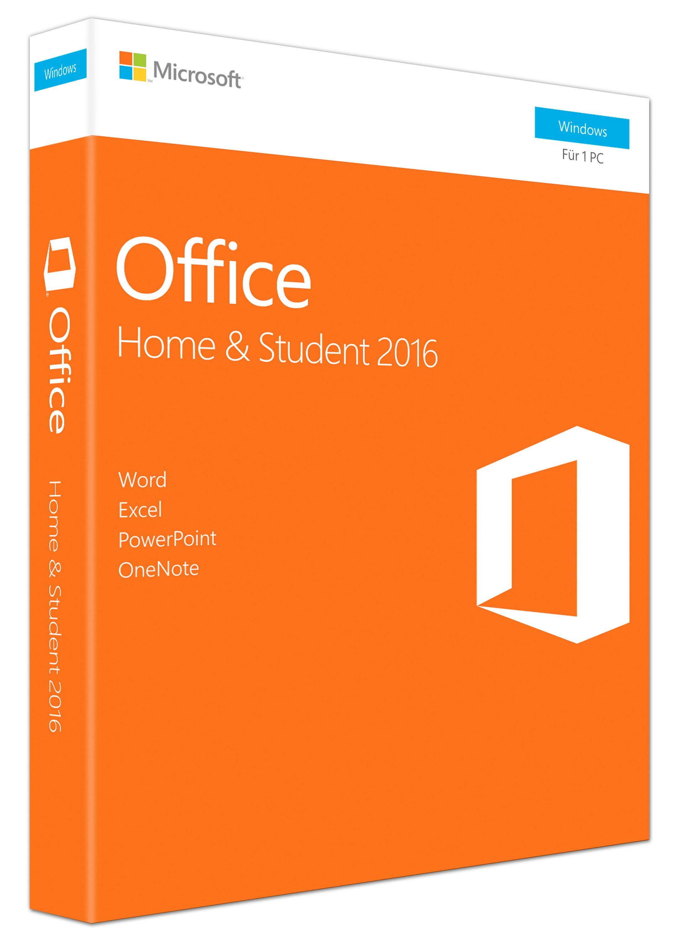 Microsoft Office-Paket »Office Home & Student 2016 (Win)«