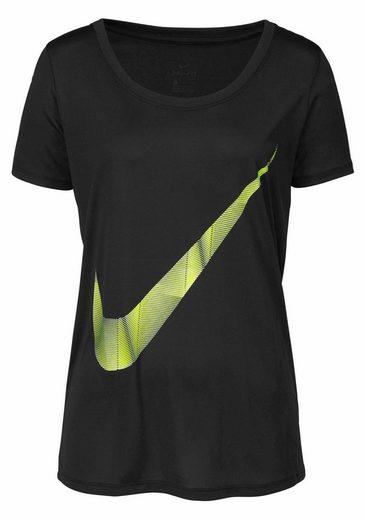 Nike Funktionsshirt WOMEN NIKE DRY TEE LEG PYRAM SWOOSH
