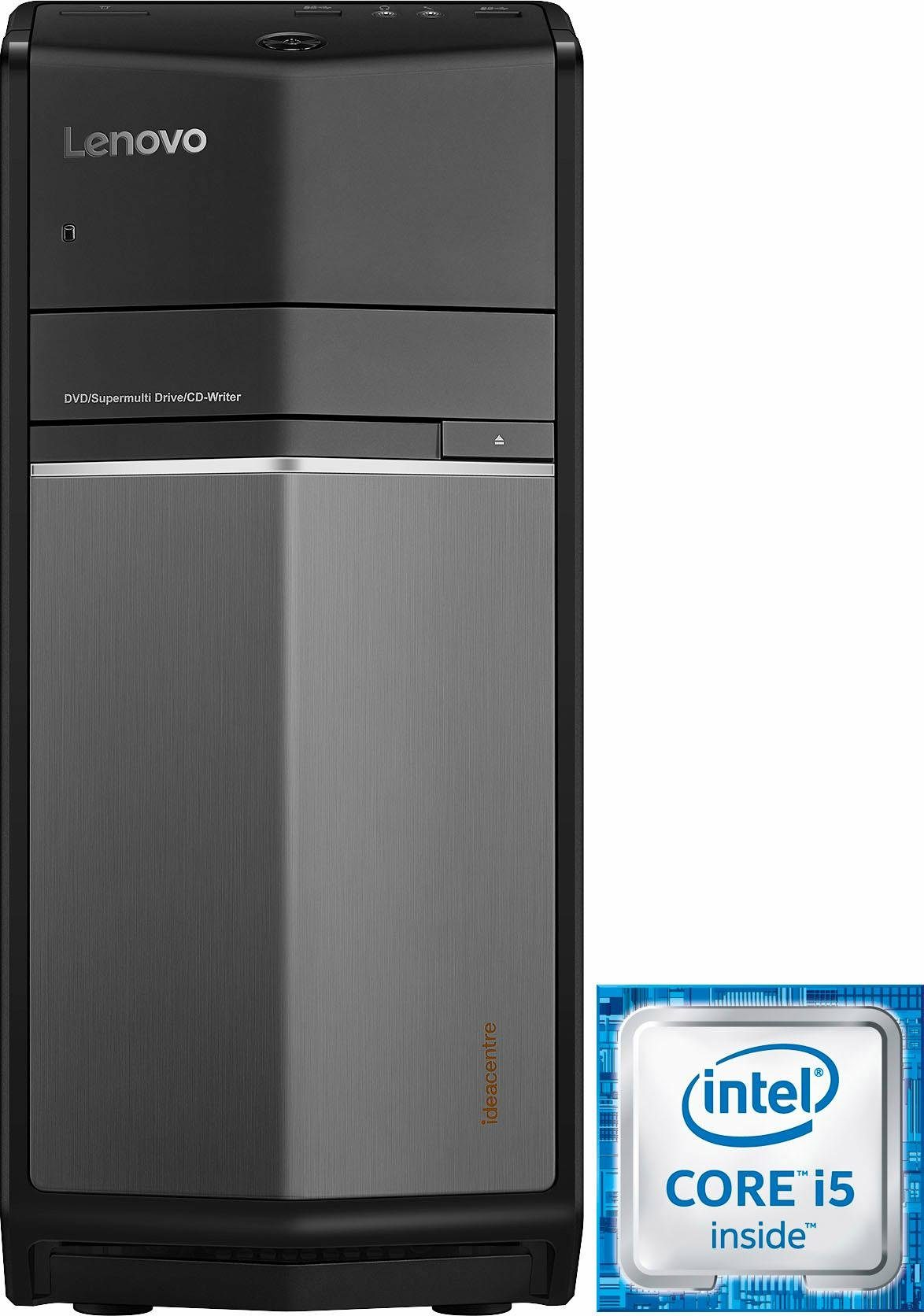 Lenovo 710-25ISH PC, Intel® Core™ i5, 8192 MB DDR4, RX 460, Microsoft® Windows® 10 Home (64Bit)