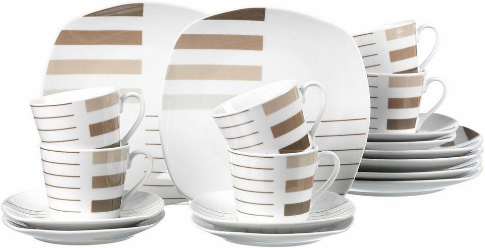 ritzenhoff breker kaffeeservice porzellan moreno 18 teilig online kaufen otto. Black Bedroom Furniture Sets. Home Design Ideas
