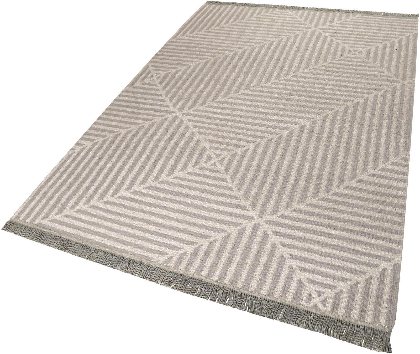 Teppich »Irregular Fields«, carpets&co, rechteckig, Höhe 5 mm - broschei