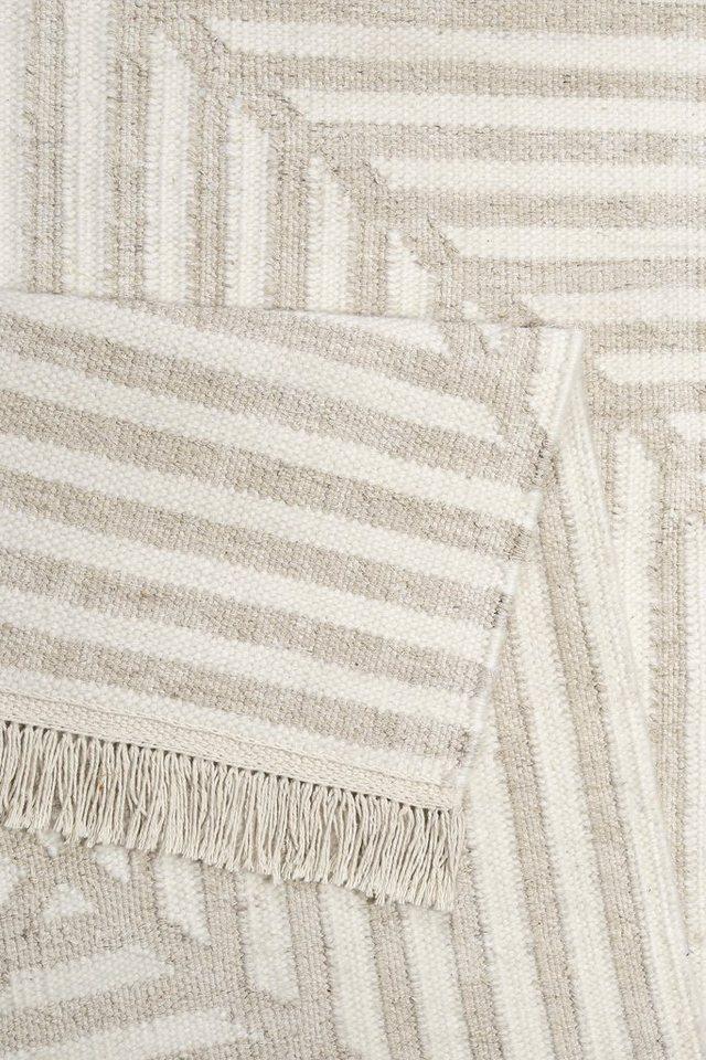 Teppich, Carpets&Co, »Irregular Fields«, Höhe: 5 mm, handgewebt