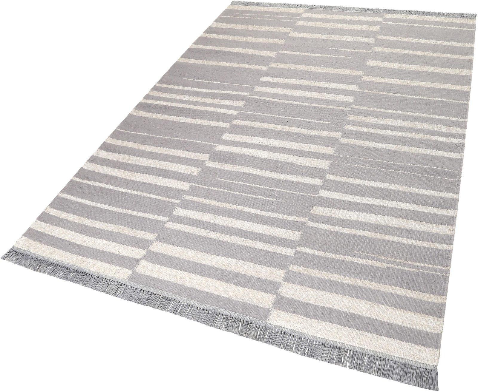 Teppich, Carpets&Co, »Skid Marks«, Höhe: 5 mm, handgewebt