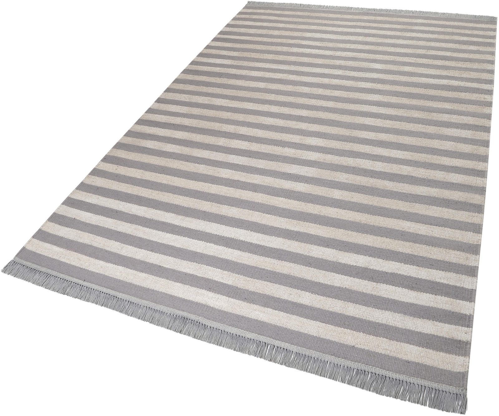 Teppich »Noble Stripes«, carpets&co, rechteckig, Höhe 5 mm - broschei