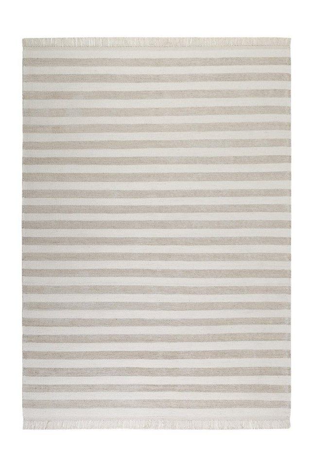 Teppich, Carpets&Co, »Noble Stripes«, Höhe: 5 mm, handgewebt