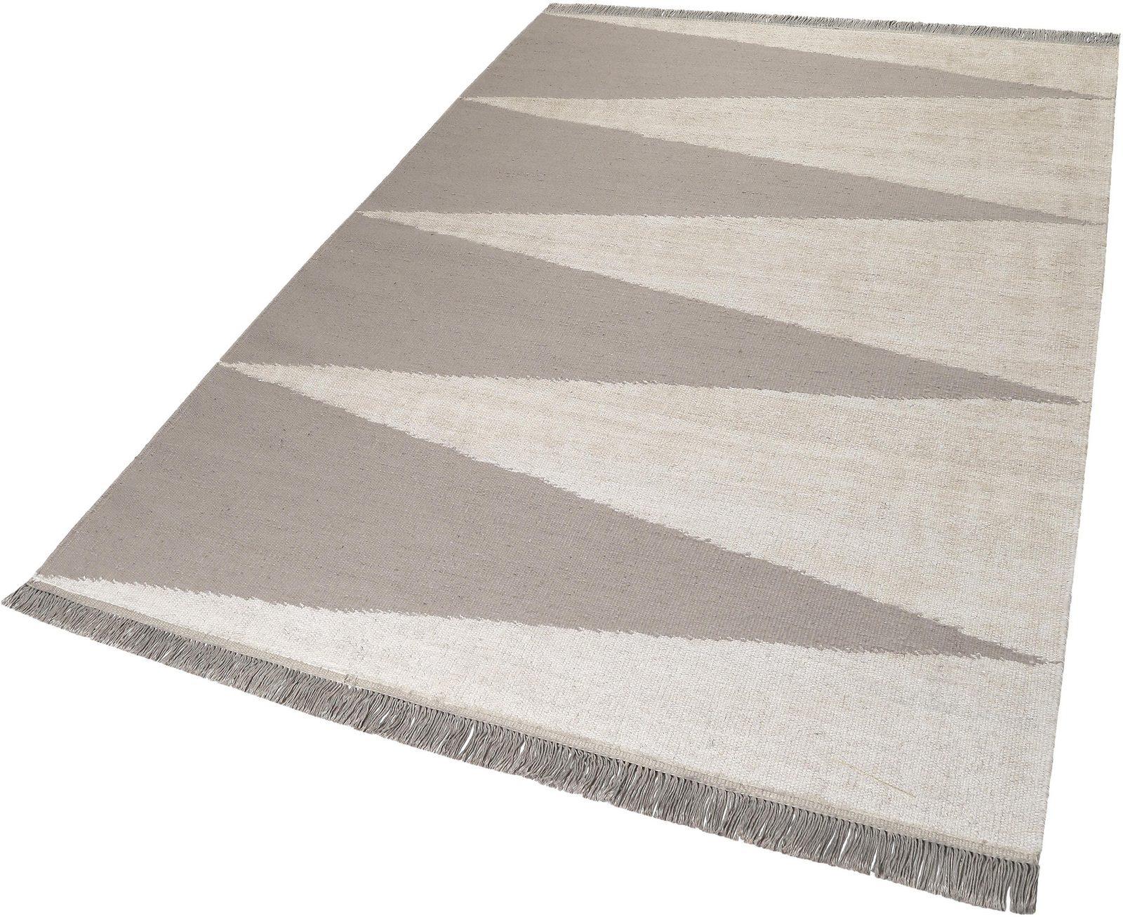 Teppich »Smart Triangle«, carpets&co, rechteckig, Höhe 5 mm - broschei