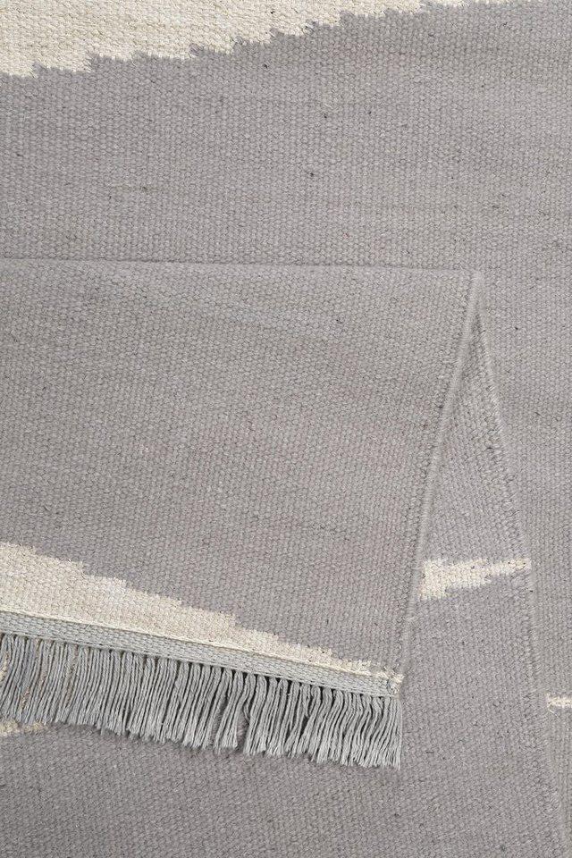 Teppich, Carpets&Co, »Smart Triangle«, Höhe: 5 mm, handgewebt