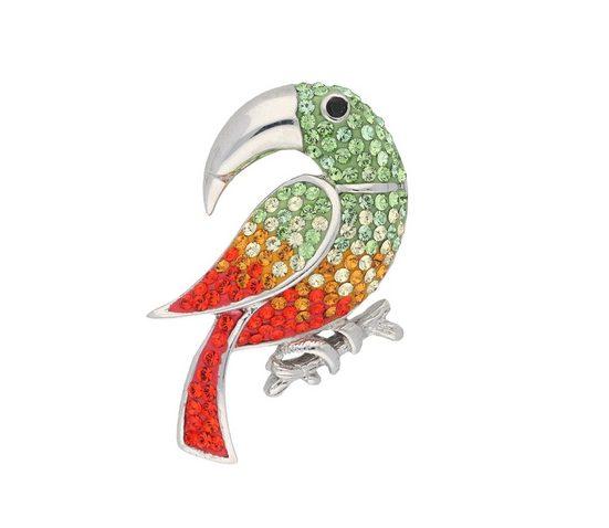Vivance Brosche »Papagei«