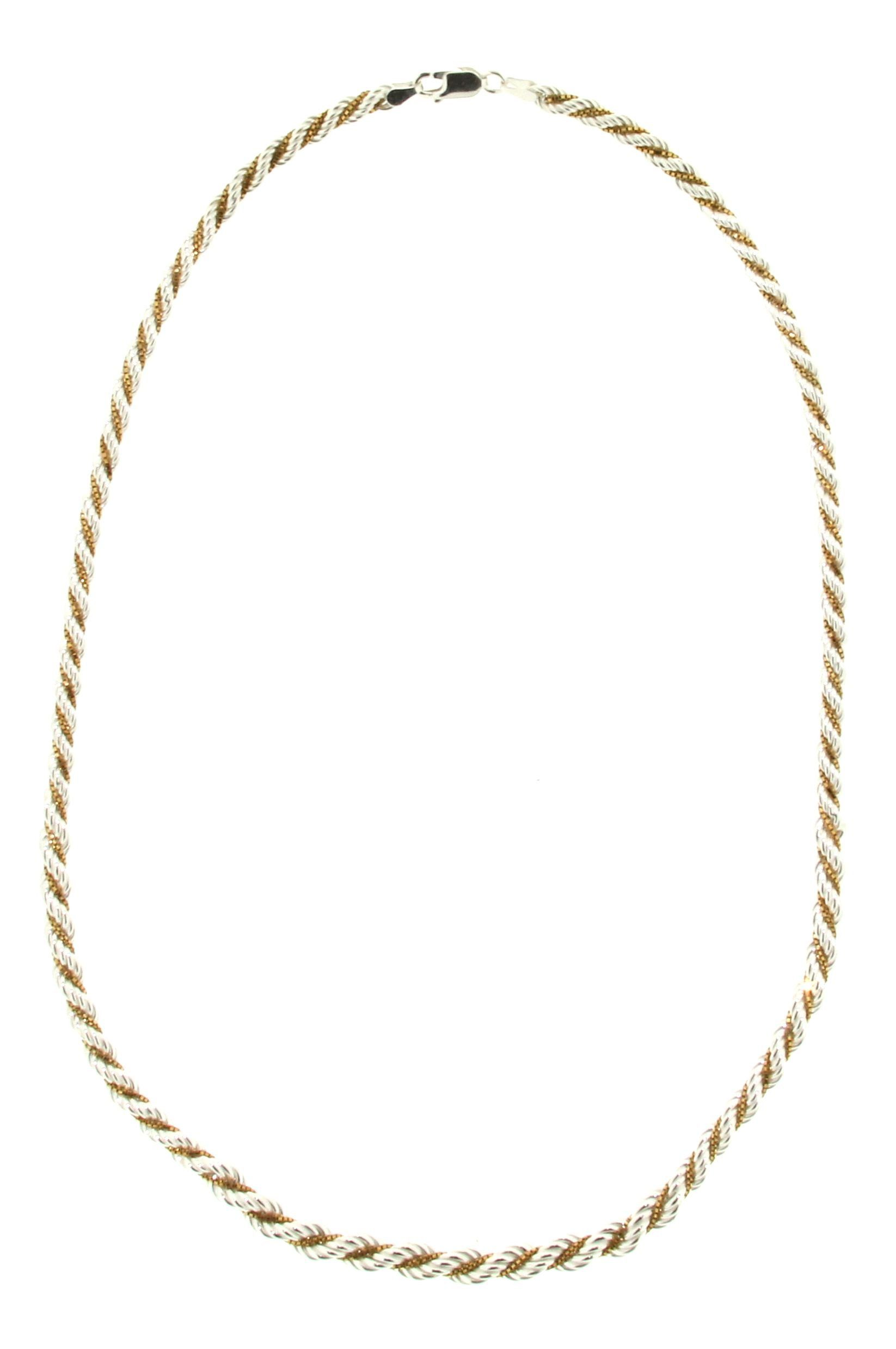 Firetti Silberkette »Kordel«