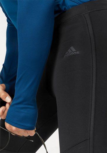 adidas Performance Lauftights RESPONSE LONG TIGHT MEN, mit kleiner Reißverschusstasche
