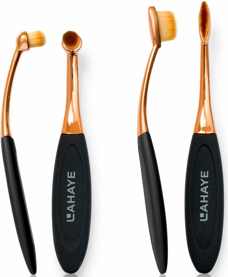 Lahaye Make Up Brush Set Circle Linear Pinselset 2 Tlg