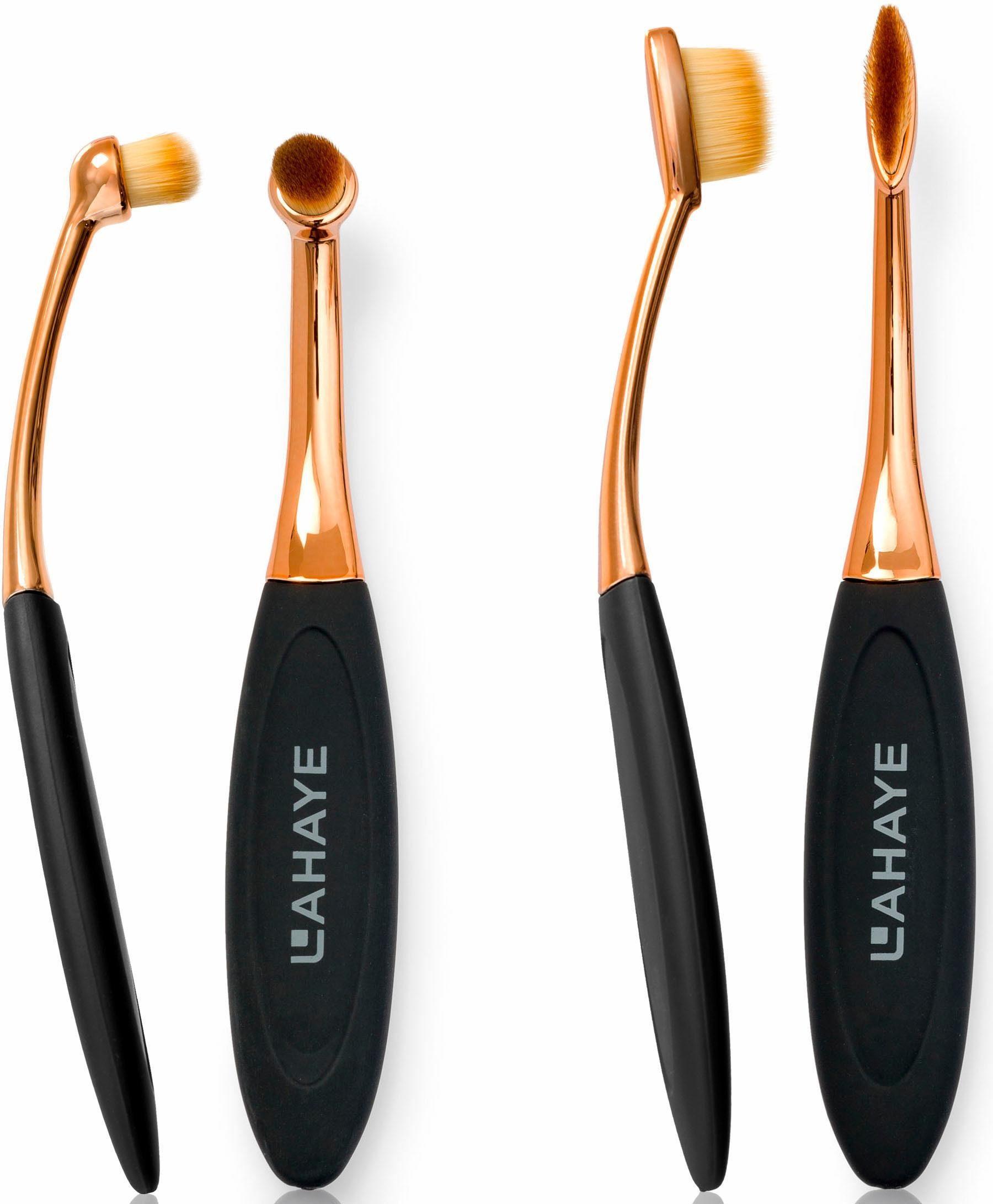 Lahaye, »Make-up Brush Set Circle & Linear«, Pinselset (2-tlg.)