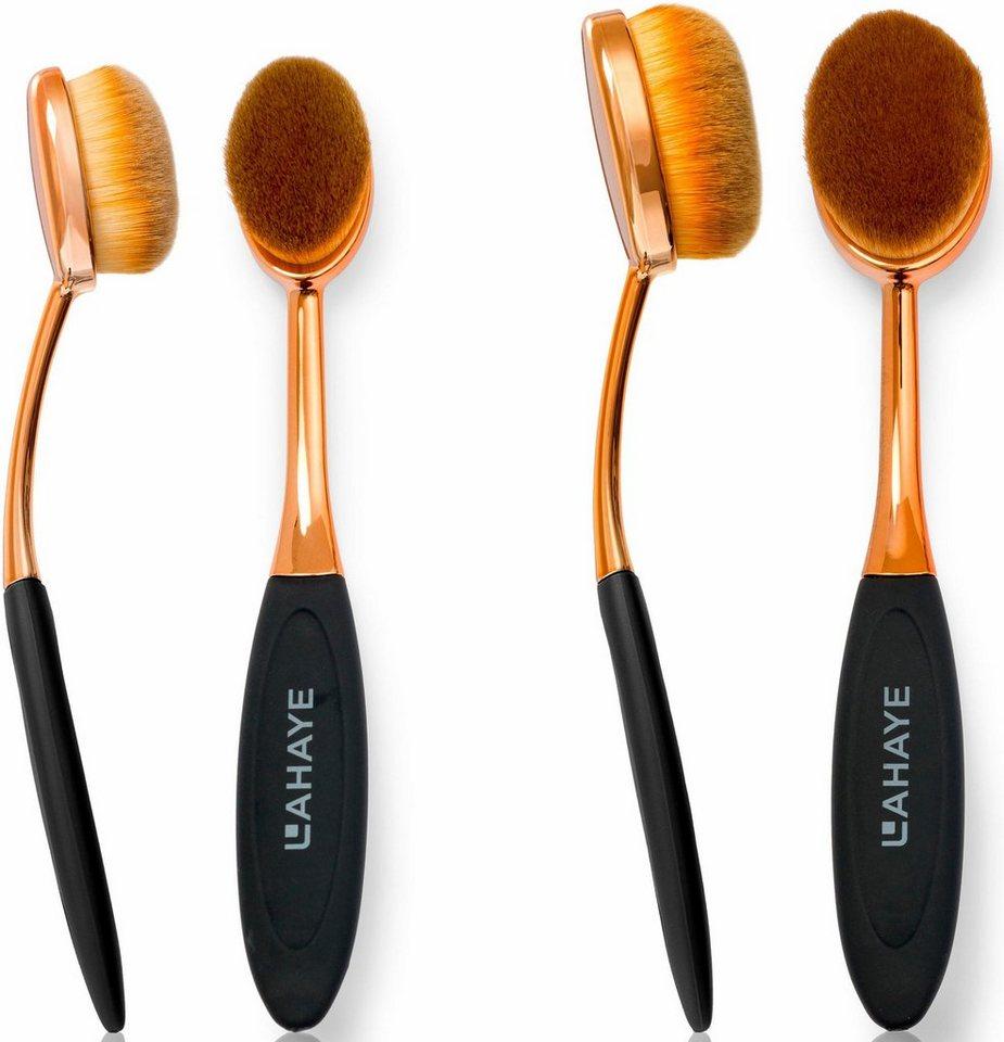 lahaye make up brush set oval pinselset 2 tlg online kaufen otto. Black Bedroom Furniture Sets. Home Design Ideas