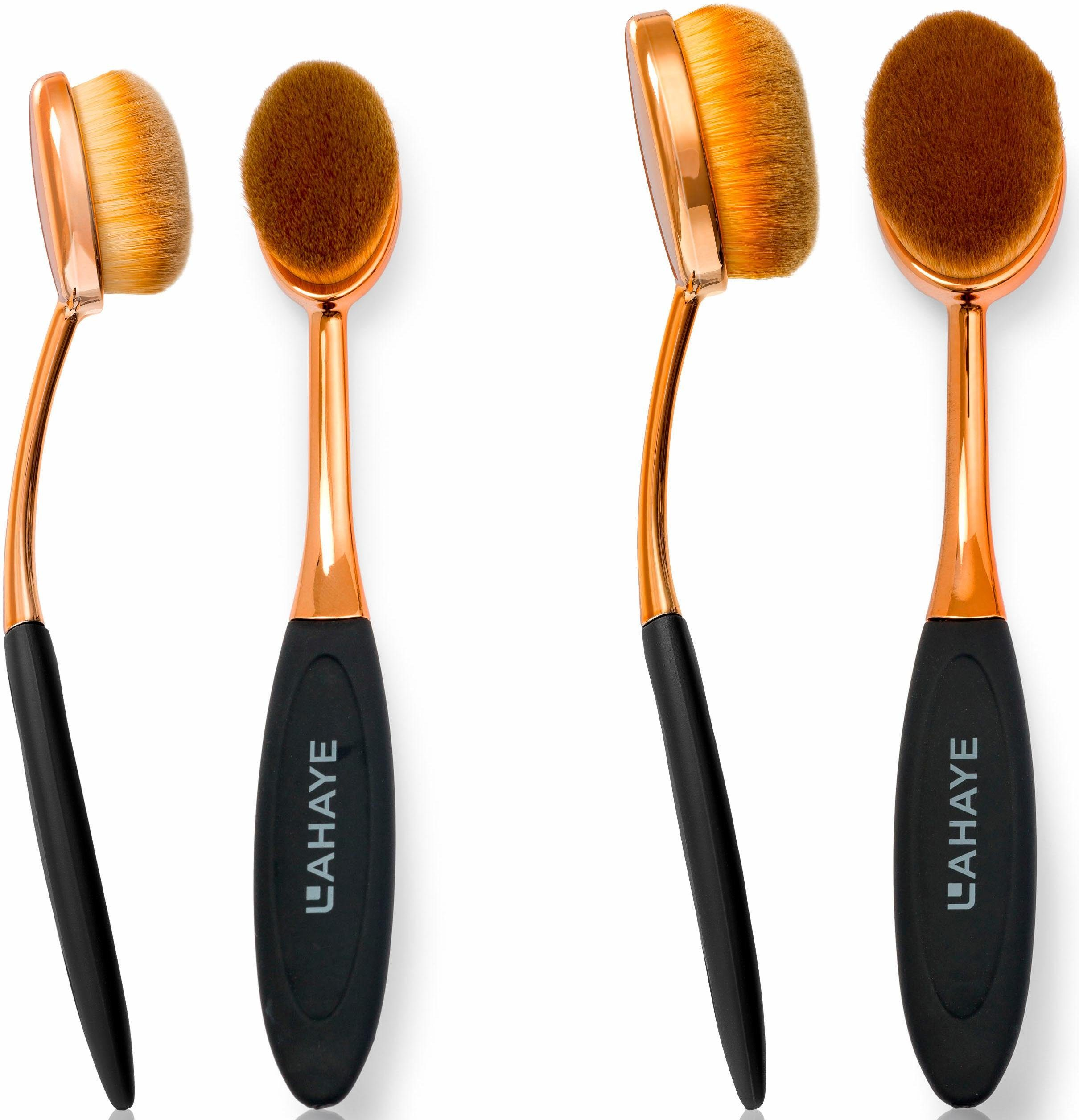 Lahaye, »Make-up Brush Set Oval«, Pinselset (2-tlg.)