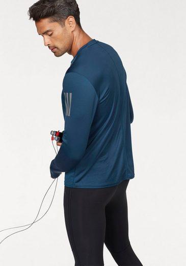 adidas Performance Laufshirt RESPONSE LONGSLEEVE TEE MEN, mit reflekrierenden Elementen