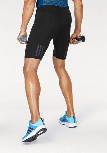 adidas Performance Funktionsshorts RESPONSE SHORT TIGHT MEN, mit reflektierenden Streifen