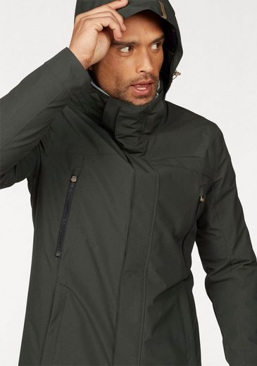 Icepeak Functional Jacket Tex, With Double Collar
