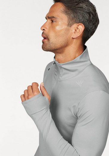 adidas Performance Laufshirt SUPERNOVA 1/2 ZIP MEN, mit Daumenlöchern