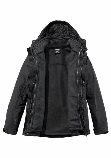 Killtec 3-in-1-Funktionsjacke PAGAN (Set), mit wasserdichtem Obermaterial