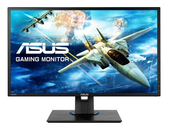 Asus VG245HE Gaming-LED-Monitor (1920 x 1080 Pixel, Full HD, 1 ms Reaktionszeit, 75 Hz)