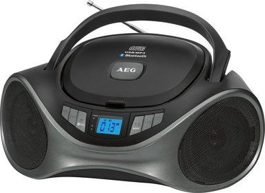 aeg stereoradio mit bluetooth cd mp3 player sr 4375. Black Bedroom Furniture Sets. Home Design Ideas