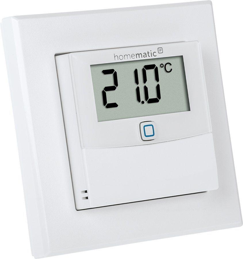 homematic ip smart home raumklima temperatur luftfeuchtigkeitssensor hmip sthd online. Black Bedroom Furniture Sets. Home Design Ideas