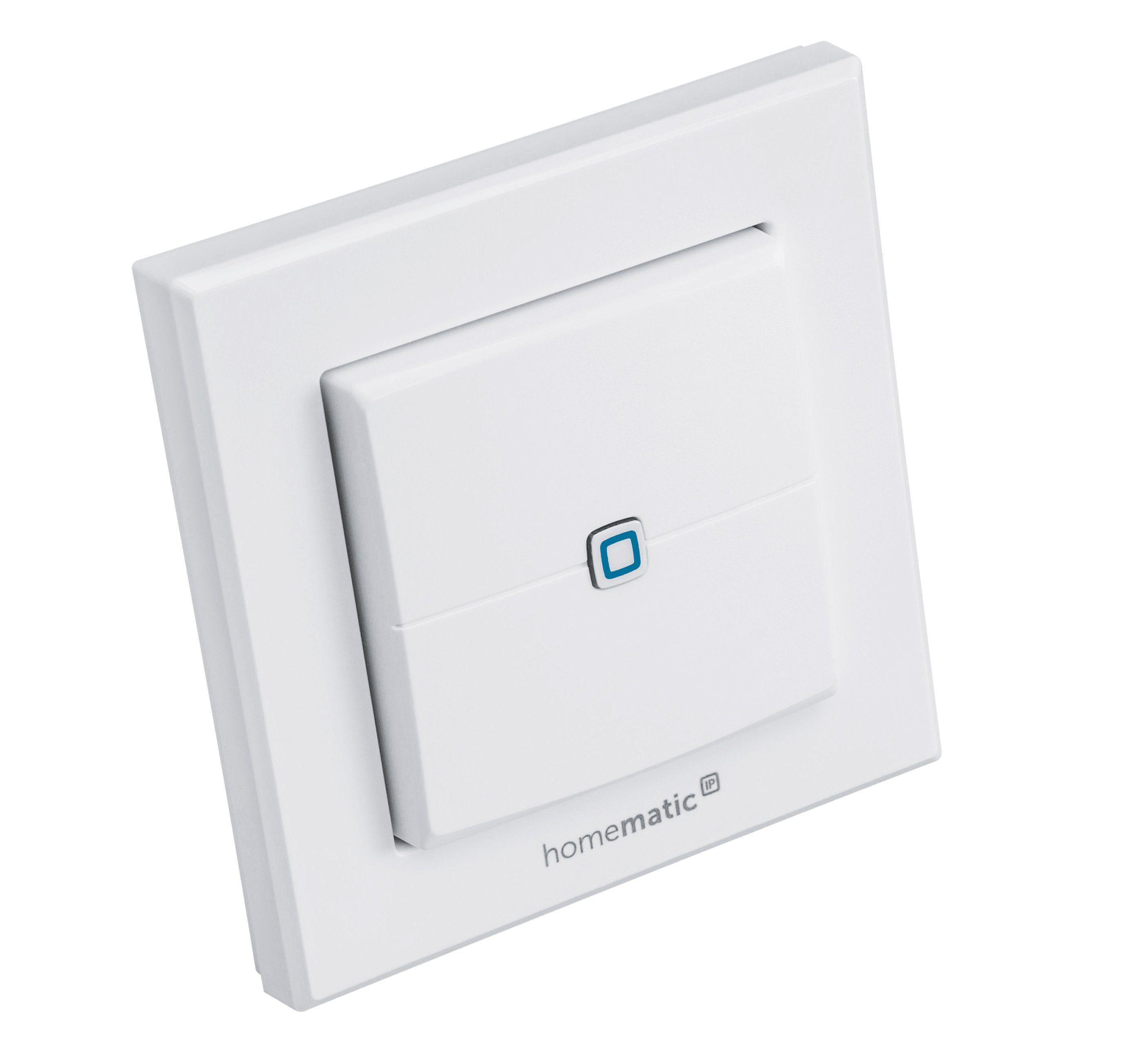 Homematic IP Smart Home - Energie & Komfort »Wandtaster 2-fach - HmIP-WRC2«
