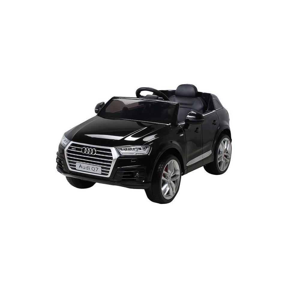 Miweba Kinder Elektroauto Audi Q7 2016 Suv Lizenziert Schwarz