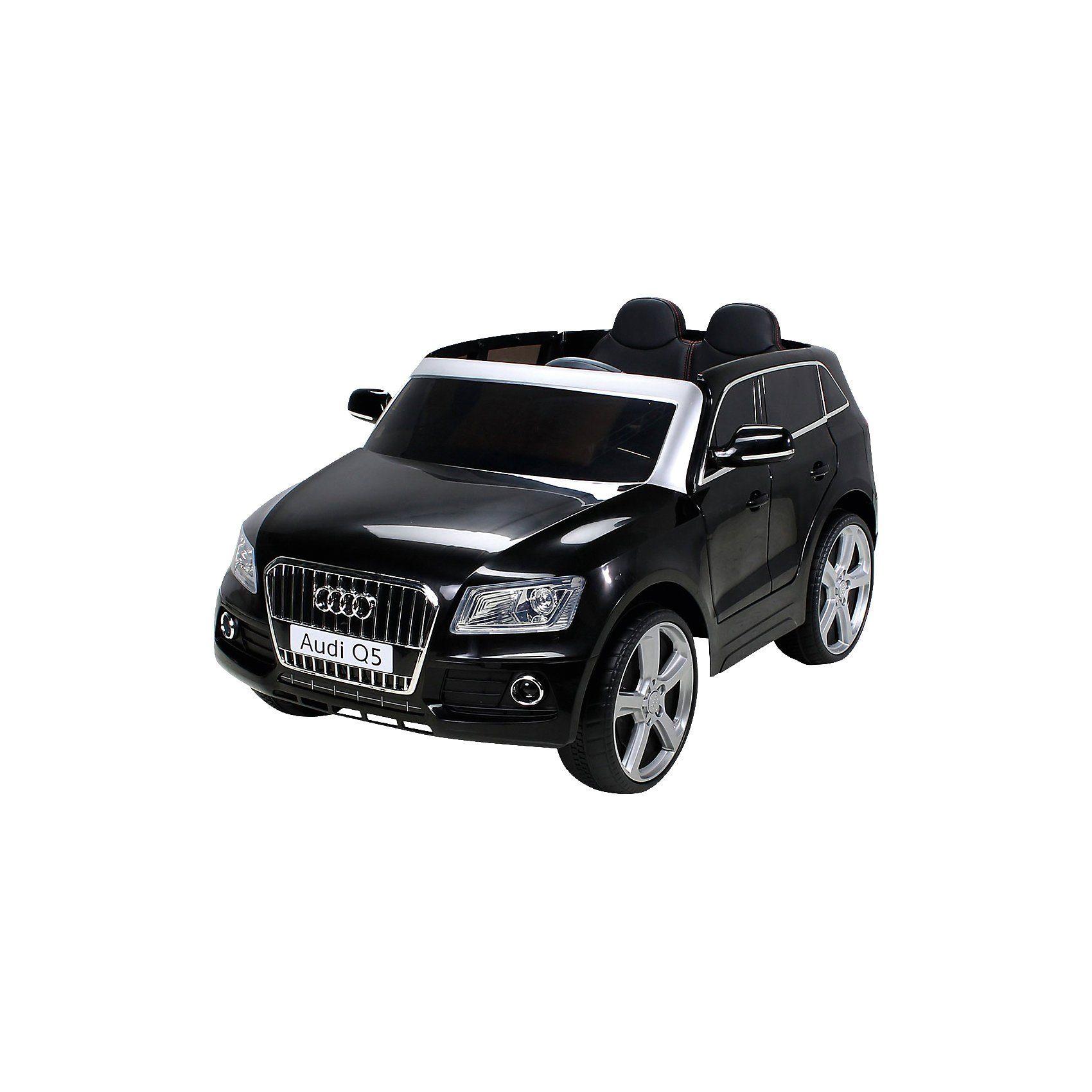 miweba Kinder Elektroauto Audi Q5 SUV Lizenziert, schwarz