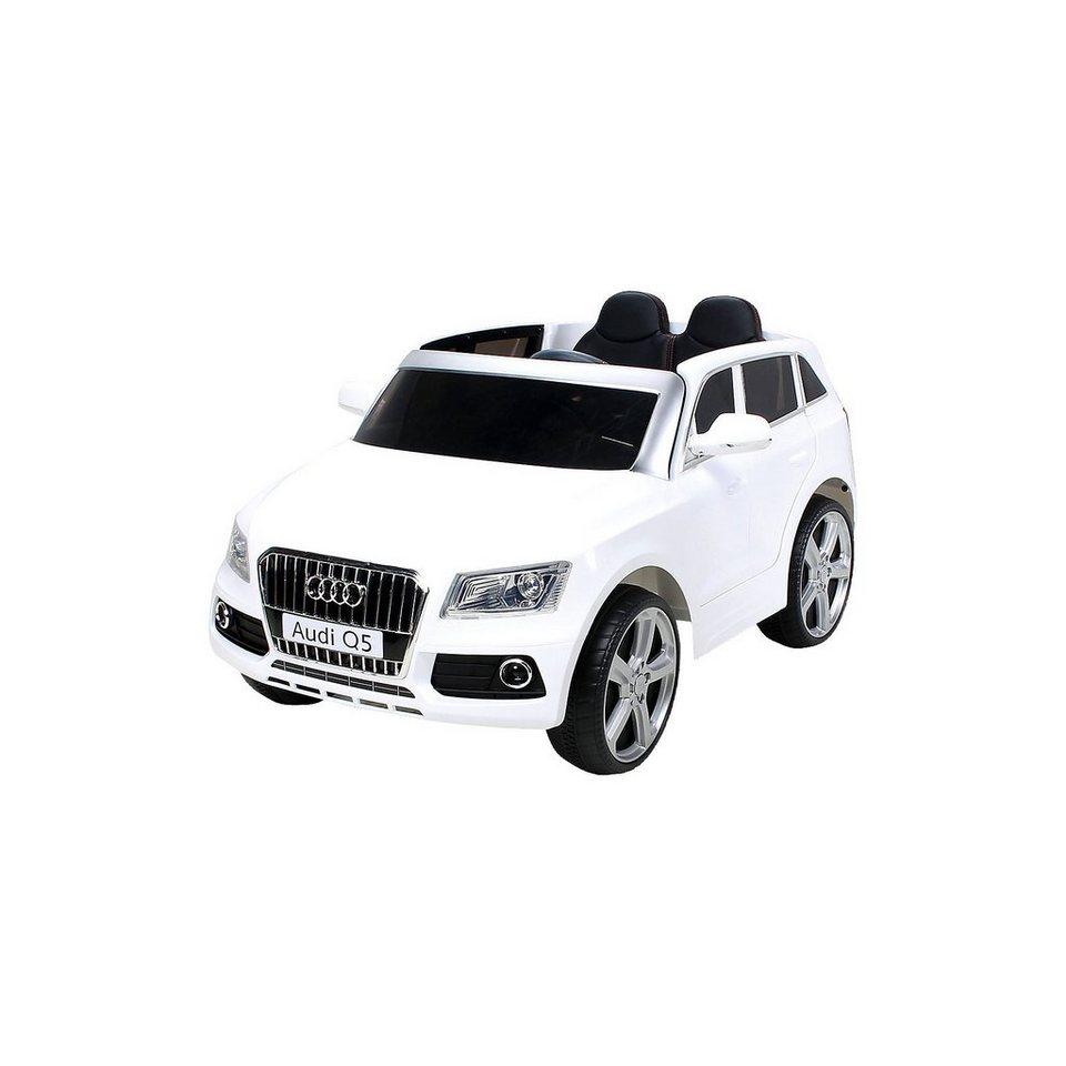 Miweba Kinder Elektroauto Audi Q5 SUV Lizenziert, weiß online kaufen
