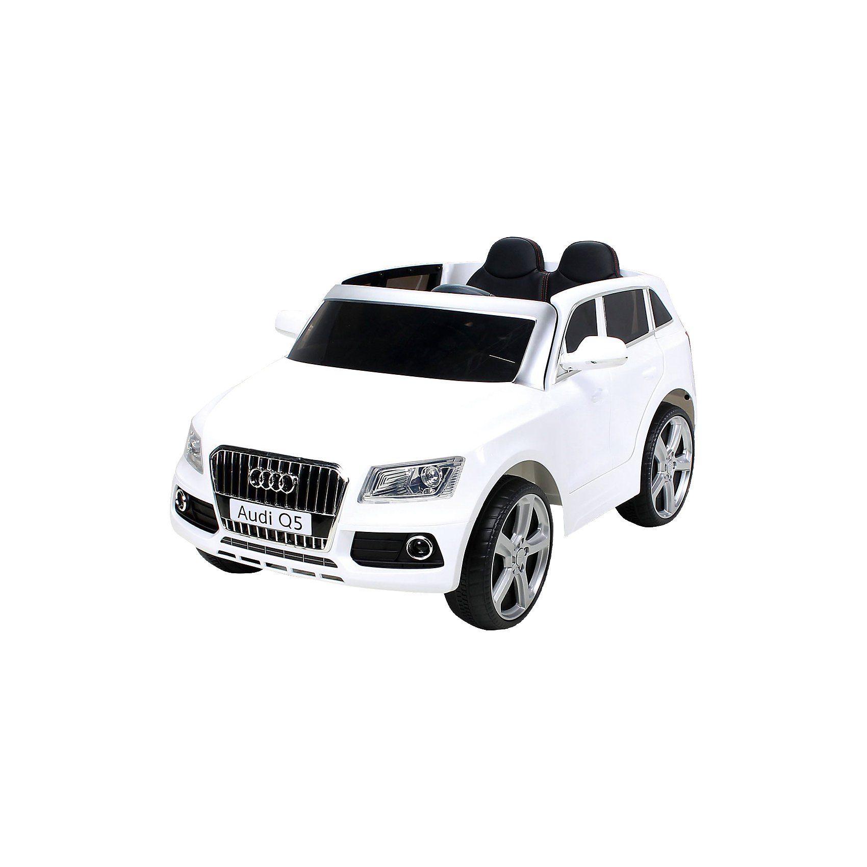 Kinder Elektroauto Audi Q5 SUV Lizenziert, weiß
