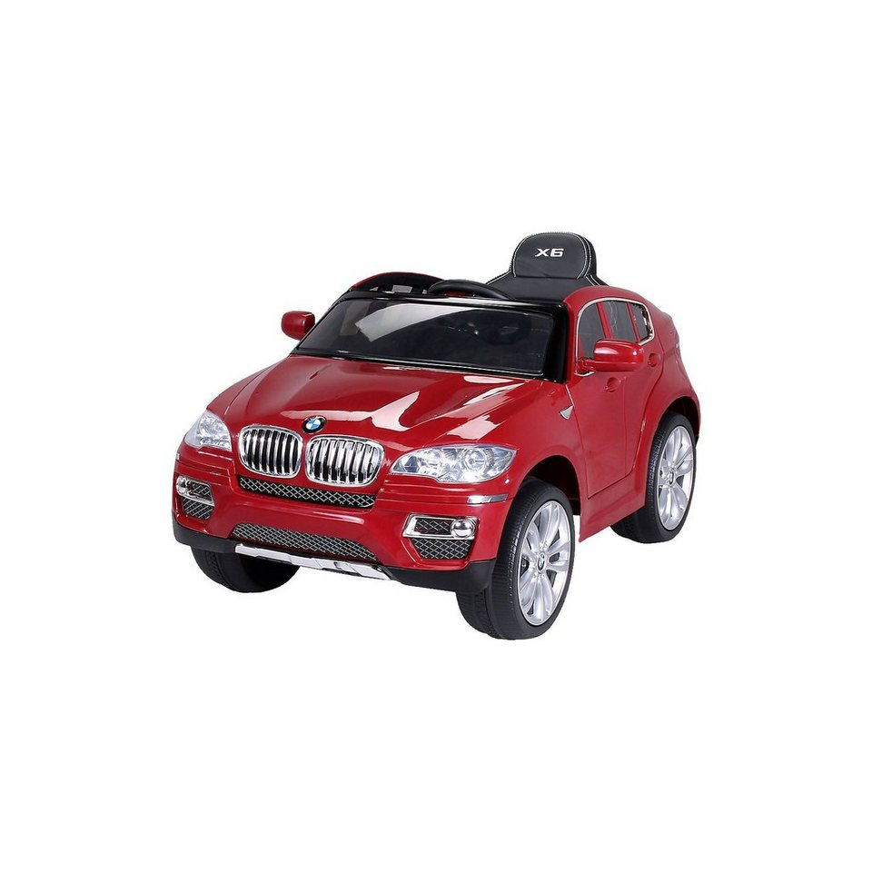 kinder elektroauto bmw x6 lizenziert rot kaufen otto. Black Bedroom Furniture Sets. Home Design Ideas